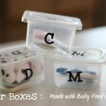 Letter Boxes & Scavenger Hunt