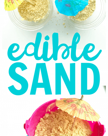 Edible Sand: Fun Sand Bucket Dessert