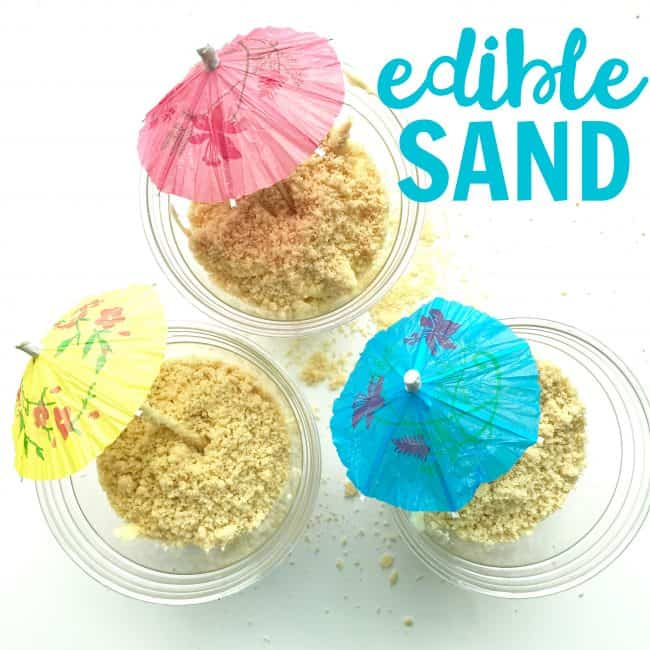 Edible Sand Dessert Cups