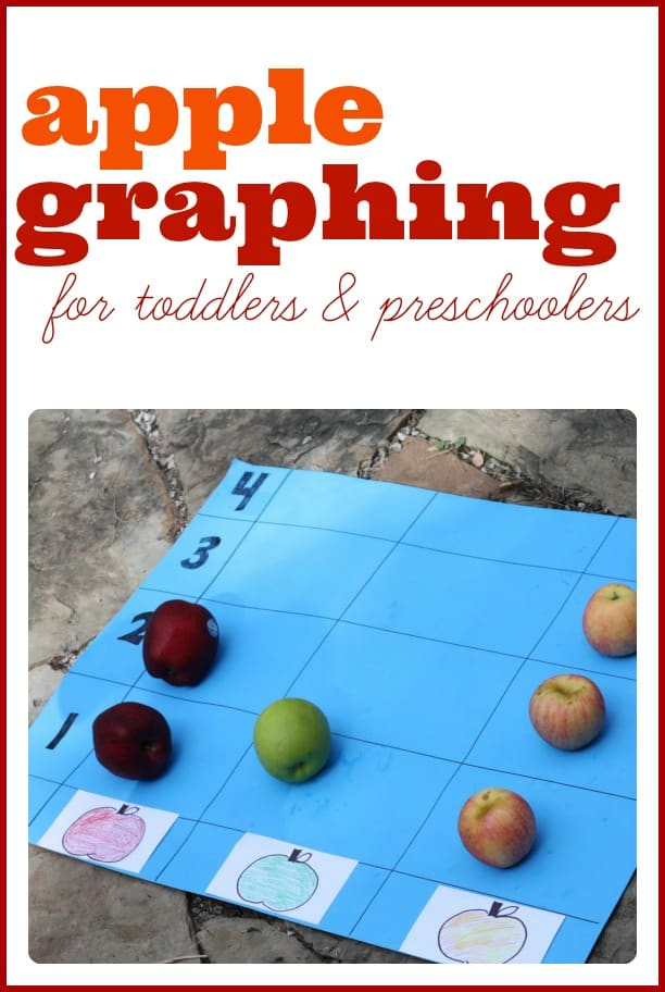 Apple Graphing I Can Teach My Child