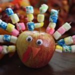 Festive Apple Turkey 150x150 Make It: Chalkboard Turkey Place Card
