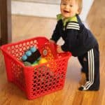 Laundry Basket Push