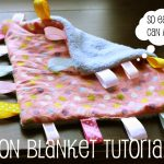 taggie 150x150 Make It: Rag Quilt for Baby