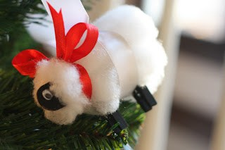 Sheep Ornaments: Easy Christmas Sheep Craft