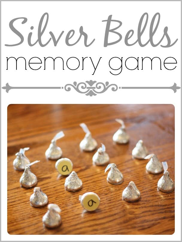 Silver Bells Memory Game I Can Teach My Child