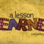 A Lesson Learned: Memorization