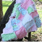 rag quilt 150x150 Make It: Ribbon Blanket for Baby