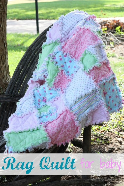 Make It Rag Quilt For Baby I Can Teach My Child