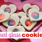Stained Glass Cookies 150x150 Im So Glad Were in the Same School Valentines