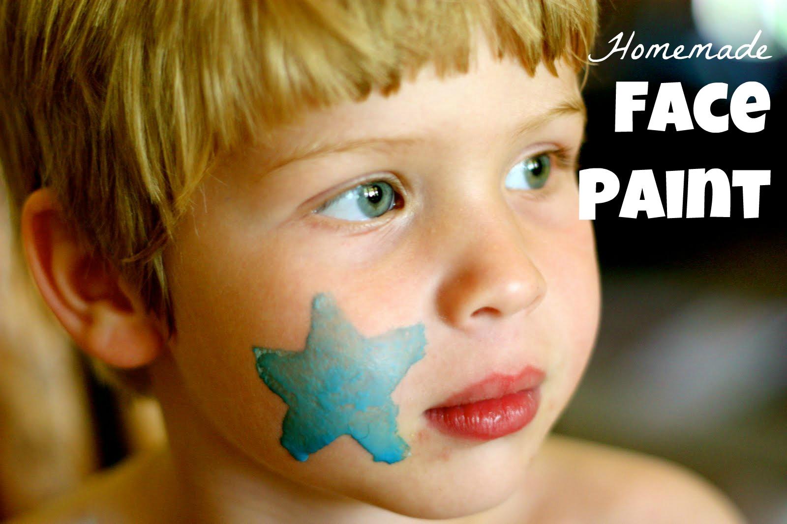 Homemade Face-Paint