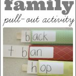 Word Family Pull Out Activity 150x150 Teaching Your Child to Read, Part 3