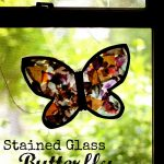 butterfly 150x150 Hes Got the Whole World in His Hands:  Coffee Filter Stained Glass Earth