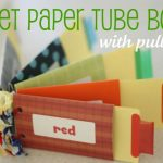 Toilet Paper Roll Book (with pull tabs)