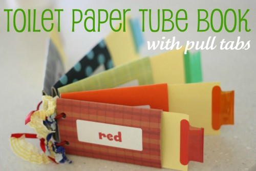 toilet paper book 500x333 Toilet Paper Roll Book (with pull tabs)