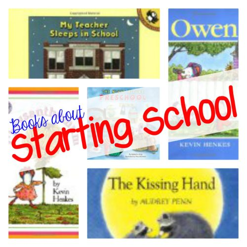 Books About Starting School 500x500 Back to School Books