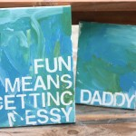 Painted Canvas Gift 150x150 Homemade Gift Ideas