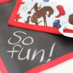 Product Review and Giveaway: TWO Reusable Chalkboard Mats