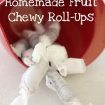 Homemade Fruit Chewy Roll-Ups
