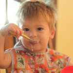Encouraging Independence:  Eating with a Spoon
