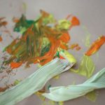 Painting with Dried Corn Husks