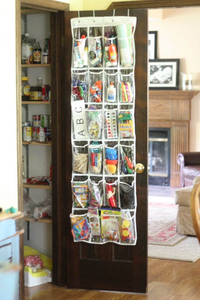 Our new school craft supply organization i can teach my Homemade craft storage ideas