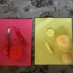 Toddler Time:  Simple Color Sorting