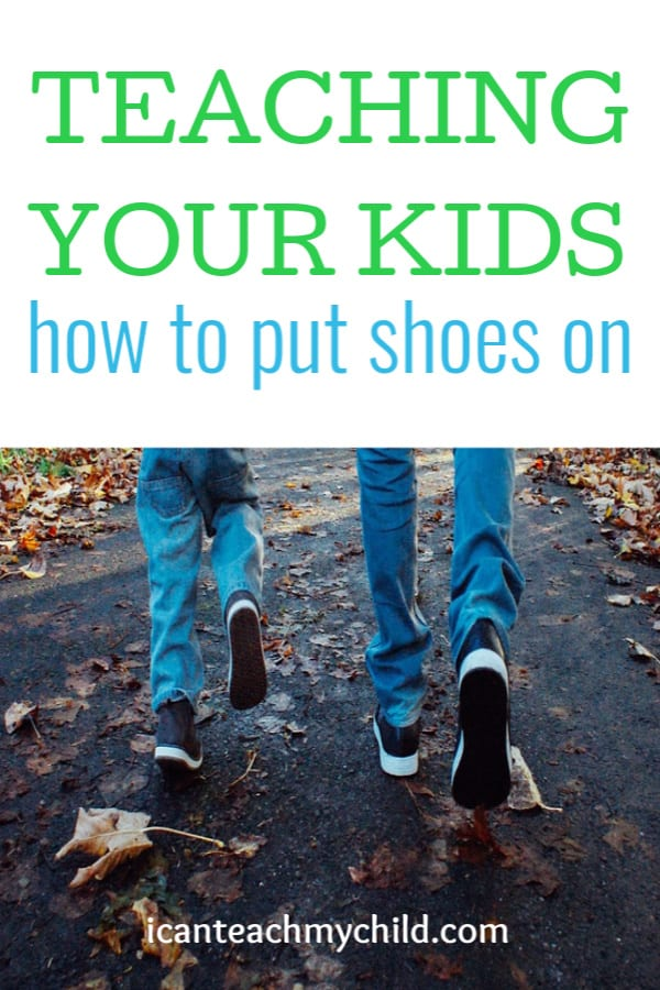 how to get your kids to put on their shoes