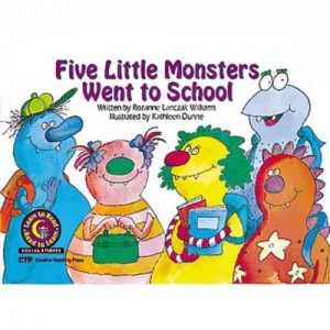 Five Little Monsters 300x300 Books about Monsters