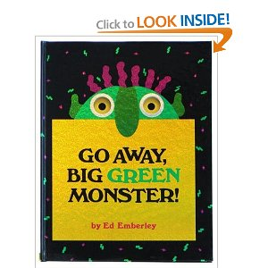 Go Away Monstere Books about Monsters