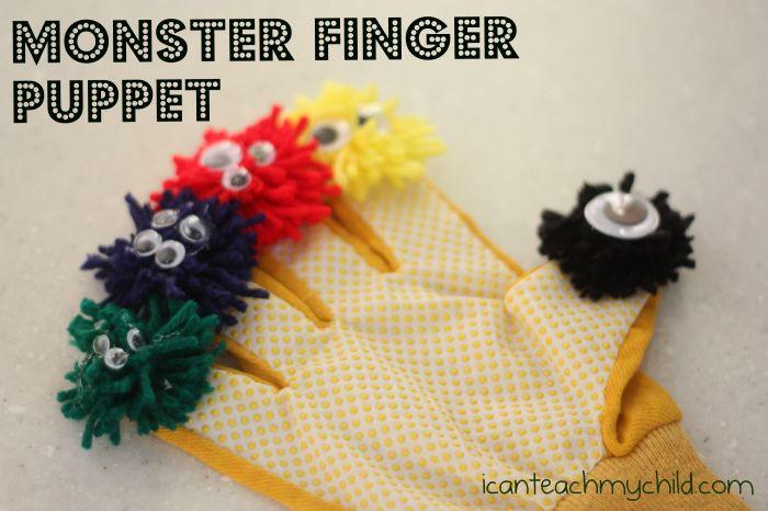 Monster Finger Puppet