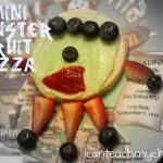 Mini Monster Fruit Pizzas