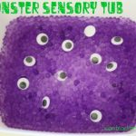 Monster Sensory Tub 150x150 Books about Monsters