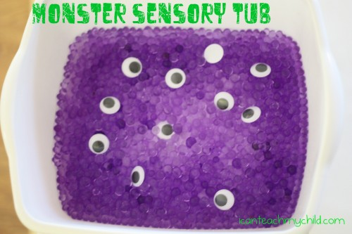 Monster Sensory Tub 500x333 Monster Sensory Tub