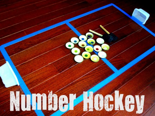 Number Hockey 500x375 Show and Share Saturday Link Up!