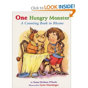 One Hungry Monster Books about Monsters
