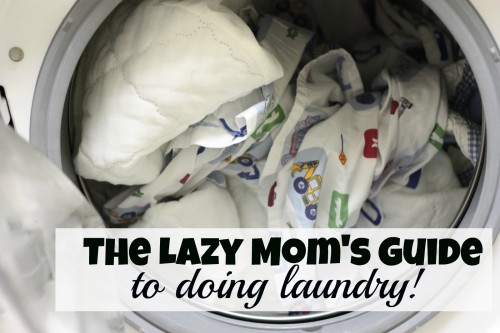 lazy mom 500x333 The Lazy Moms Guide to Doing Laundry