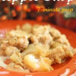 Easy Apple Crisp (7-minute prep time)
