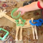 Toddler Time:  Sorting Cookie Cutters