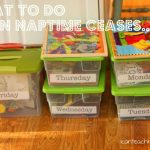 What To Do When Naptime Ceases…