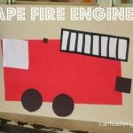 Shape Fire Engine 150x150 Giant Shape Sort
