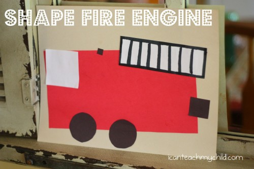 Shape Fire Engine 500x333 Shape Fire Engine
