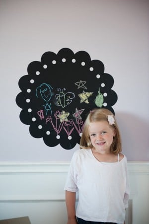 chalkboard 300x451 Urbanwalls Vinyl Wall Decals:  Product Review and Giveaway