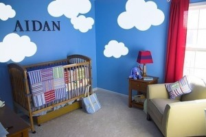 clouds 300x200 Urbanwalls Vinyl Wall Decals:  Product Review and Giveaway