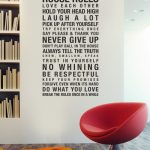 Urbanwalls Vinyl Wall Decals:  Product Review and Giveaway
