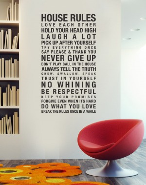 house rules 300x379 Urbanwalls Vinyl Wall Decals:  Product Review and Giveaway
