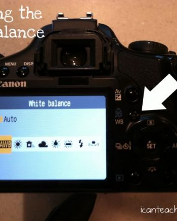 Virtual Photography Class:  White Balance