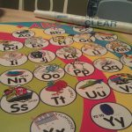 """Homemade """"Learn to Write ABC's"""" Board"""