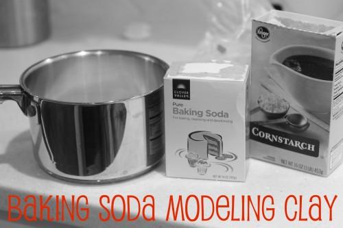 bakingsodaclay 500x333 Baking Soda Modeling Clay