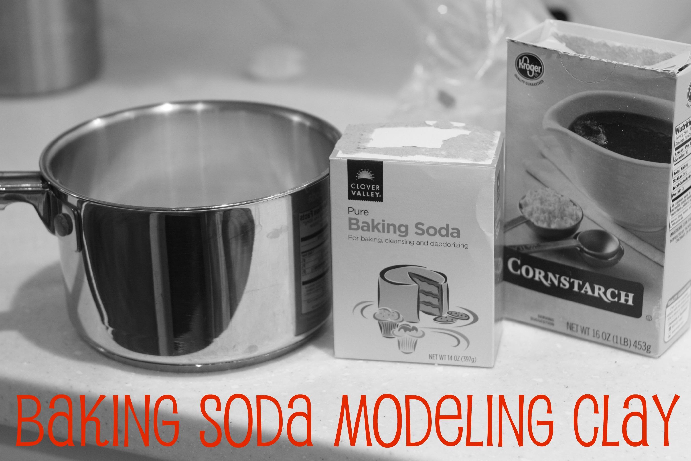 Baking Soda Modeling Clay I Can Teach My Child