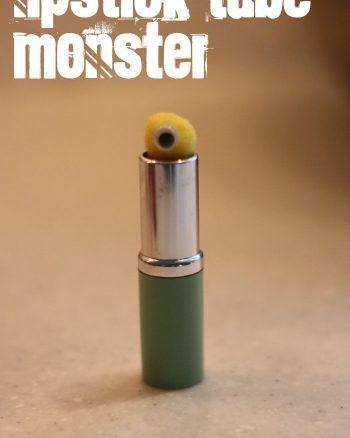 Lipstick Tube Monster